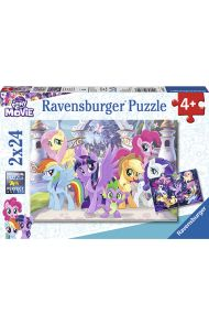 Puslespill 2X24 My Little Pony Ravensburger