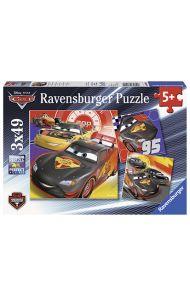 Puslespill Ravensb 3X49 Disney Cars