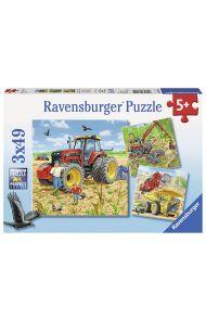 Puslespill Ravensb Store Maskiner 3X49