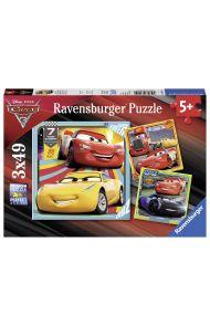Puslespill Ravensb Disney Cars 3 3X49