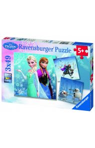 Puslespill Ravensburger Frost 3X49