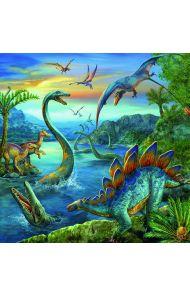 Puslespill Dinosaurer 3X49