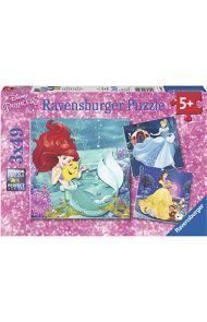 Puslespill Ravensb 3X49 Disney Prinsesser