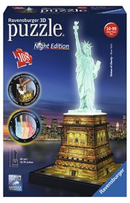 Puslespill Ravensb 3D 216 Statue Of Liberty