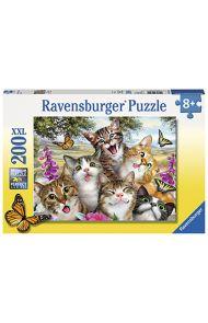 Puslespill Ravensb Muntre Katter 200