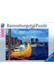 Puslespill Ravensburger 1000 Norge Oslo