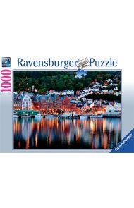 Puslespill Ravensb Norge Bergen 1000