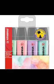 Tekstmarker Stabilo Boss pastel (4)