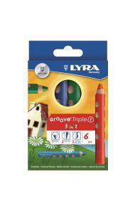 Fargeblyanter Lyra Groove 6 Sett