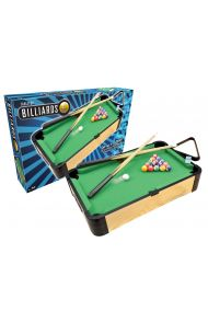 "20"" WOOD TABLETOP BILLIARDS"