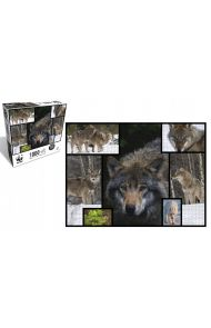 WWF 1000 Piece Puzzle - Wolves
