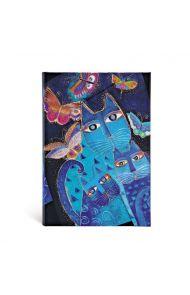 Paperblanks Blue Cats And Butt., Mini Li