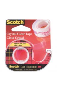 Tape SCOTCH® Crystal 12mmx10m m/disp