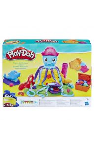 Leke Play-Doh Cranky The Octopus