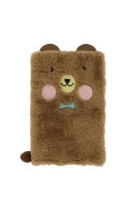 Notatbok A5 Bear Fluffy Notebook