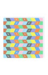Systemkort PC Happy Birthday Blocks