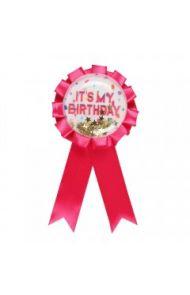 Birthyay Its My Birthday Pink Rosette