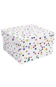 Gaveeske Watercolour Dots Box L