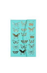 Notatbok A5 Butterflies Floral Pu Mag