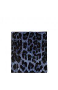 Album Blue Leopard Print S