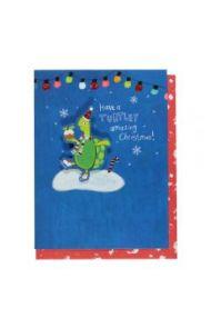 Julekort PC Turtley Amazing Christmas