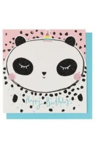 Systemkort Pc Die Cut Panda Happy Bday