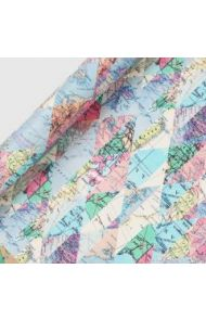 Gavepapir Diamond Maps 3M Roll Wrap