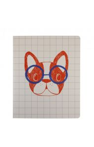 Notatbok 8 X10 French Bulldog