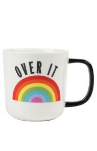 Krus Ru Rainbow Slogan Mug