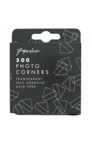 Fotohjørner Transparent 500