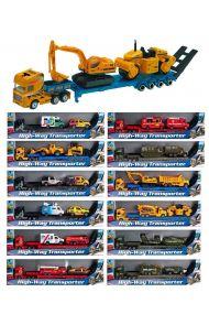 Leke Speed Sett 3 Truck M/Biler