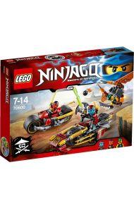 Lego Ninjajakt på to hjul 70600