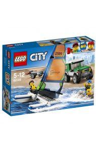 Lego Terrengbil med katamaran 60149
