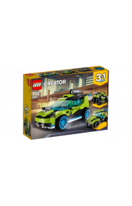 Lego Rakettdrevet Rallybil 31074
