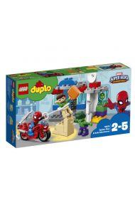 Lego Eventyr Med Spiderman Og Hulk 10876