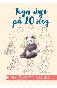 Tegn dyr på 10 steg