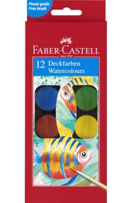 Maleskrin Faber 12 Farger