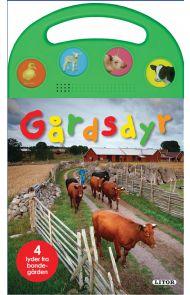 Lydbok med bærehank: Gårdsdyr  lydbok med bærehank