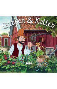 Kalender 2020 Baccara 18x18 Gubben&katten