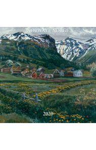 Kalender 2020 Baccara 30x30 Norske kunstnere