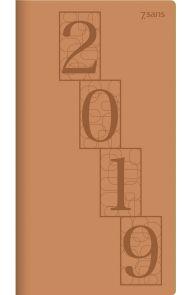 7 Sans Datum  Trend Imit. Skinn Cognac