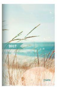 Lommekalender 7Sans Datum Rosa 2020