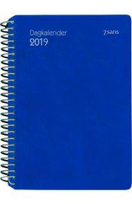 7.Sans Dagkalender Plast Blå