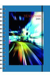 7.Sans Year Classic A5 Spiralisert Plast 2020