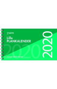 7.Sans Lille Plankalender Grønn 2020
