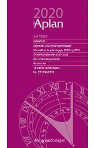 Aplan A6 Time Uke Årssett 2020