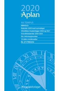 Aplan A6 Tempus Dag Årssett 2020