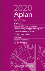 Aplan Pocket Uke Årssett 2020