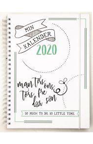 Ukekalender Grieg A5 Doodle Ii 2020