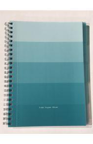 Emneblokk A4 1-5  Blå